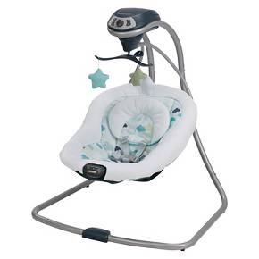 Swinging to sleep with Graco