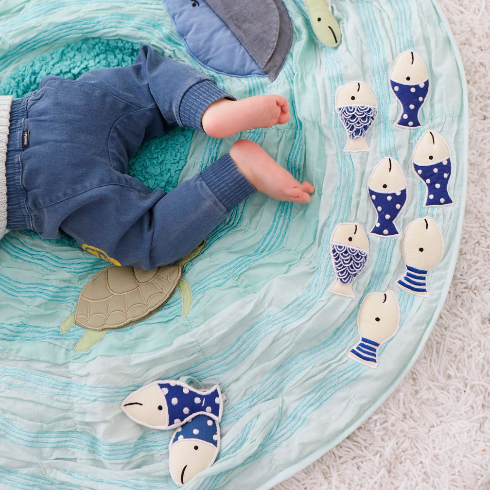 "Land of Nod ""Be on the Sea"" Activity Mat- A love letter"