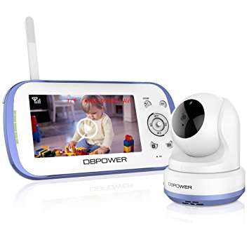 Dual Camera Monitors: DBPOWER 4.3-inch Video Baby Monitor vs the Infant Optics DXR-8 Video Baby Monitor