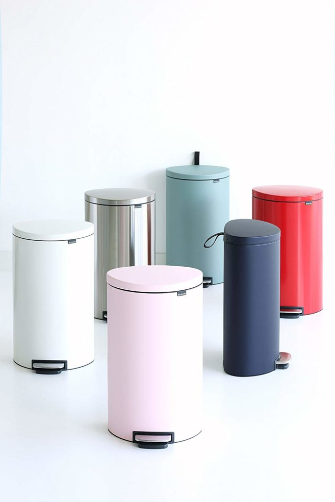 Getting rid of the Diaper Genie- Brabantia cans for diapers