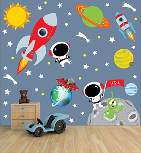 Etsy Nursery Decor- Space Theme *Discount Code*
