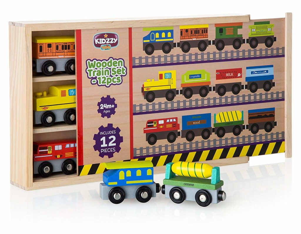 Kidzzy Trains: Quality wooden trains