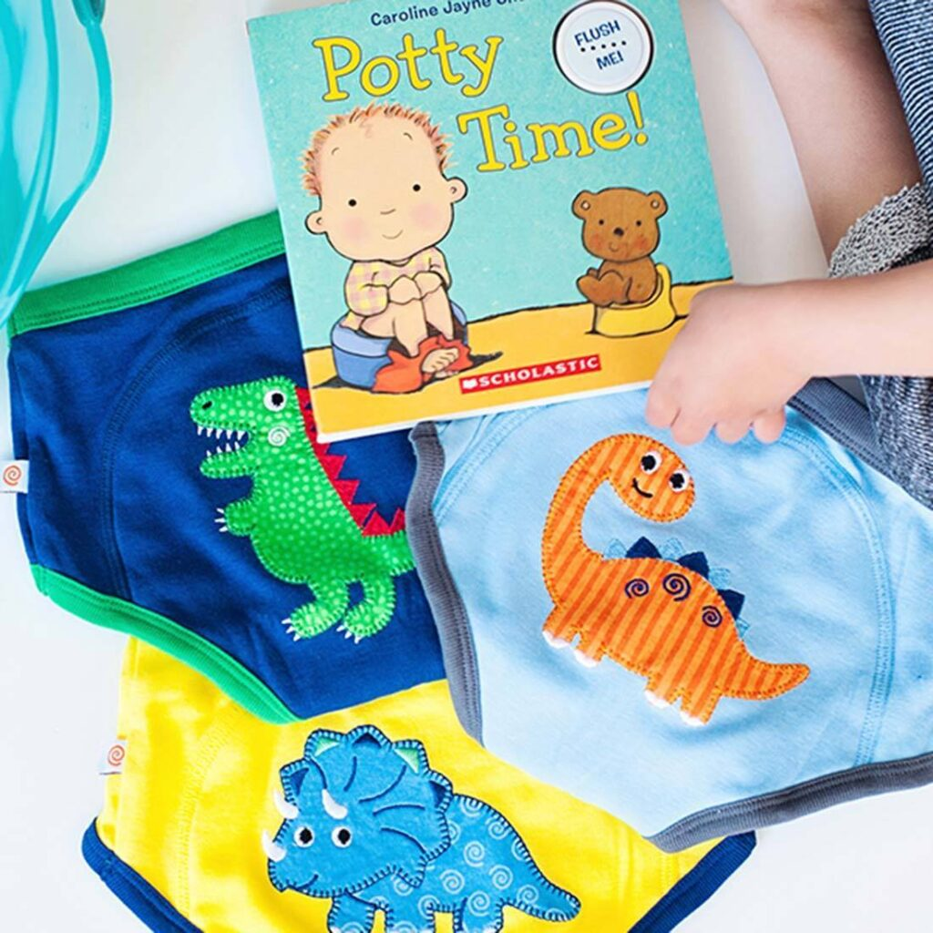 Potty Training in Style with Zoocchini
