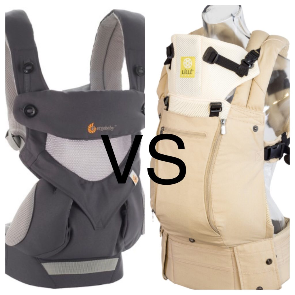 Lillebaby Complete All Seasons vs Ergo 360 Cool Air