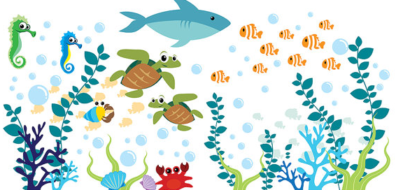 Etsy Nursery Decor- Ocean Theme